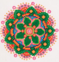 Flower Mandala Craft Kit By Diamond Dotz