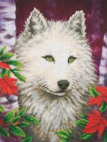 White Wolf Craft Kit By Diamond Dotz