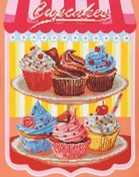 Cupcakes Craft Kit By Diamond Dotz