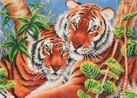 Tender Tigers Craft Kit By Diamond Dotz