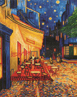 Café at Night (Van Gogh) Craft Kit By Diamond Dotz