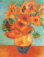 Sunflowers (Van Gogh) Craft Kit By Diamond Dotz