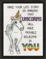 Unicorns Cross Stitch Kit By Design Works