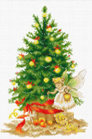 Christmas Tree Cross Stitch Kit By Luca S