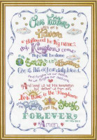 Lord's Prayer Cross Stitch Kit By Design Works