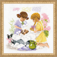 Housewives Cross Stitch Kit By Riolis