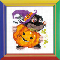 Happy Halloween Cross Stitch Kit By Riolis