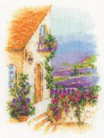 Provence Street Cross Stitch Kit By Riolis