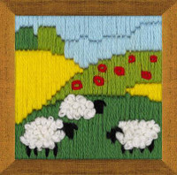 Summer Meadow Long Stitch Kit By Riolis