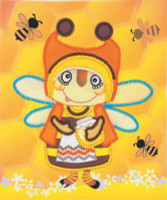 Granny Bee Embroidery Kit By Riolis
