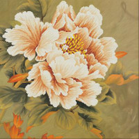 Blooming Peony No Count Cross Stitch Kit By Riolis