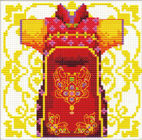 Samuria Red No Count Cross Stitch Kit By Riolis