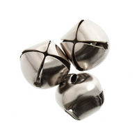 Bells: Jingle: 6mm: Silver: 10 Pack by Trimmits