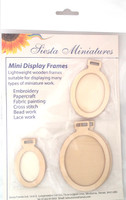 Miniature Display Frames - Ovals By Siesta