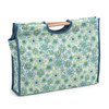 Lydia  Craft Bag with Wooden Handles By Hobby Gift