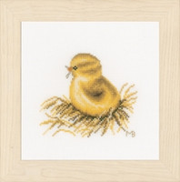 Little Chick 4 Cross Stitch Kit by Lanarte