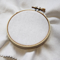 Beechwood Embroidery Hoop 4 inch 10.5cm By DMC