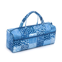 Patchwork Denim  Knit Bag By Hobby Gift