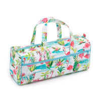 Flamingos  Knit Bag By Hobby Gift