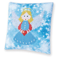 Christmas Angel Pillow Craft Kit By Diamond Dotz