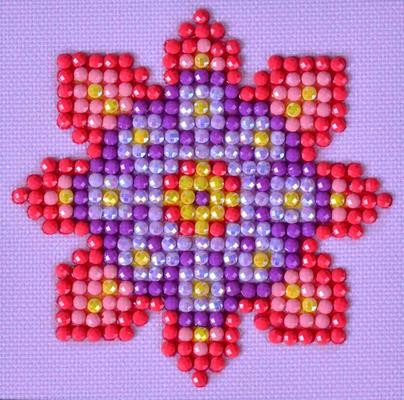 Flower Mandala 2 Craft Kit By Diamond Dotz