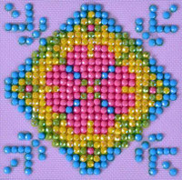 Patchwork Mandala 2 Craft Kit By Diamond Dotz