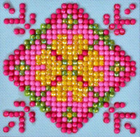 Patchwork Mandala 1 Craft Kit By Diamond Dotz