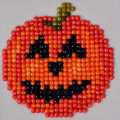 Pumpkin Craft Kit By Diamond Dotz