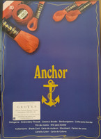 Printed Anchor Stranded Cotton: Shade Card
