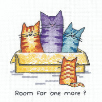 'One More' Cross Stitch Kit By Heritage Crafts