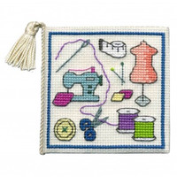 Sewing Needle Case Cross Stitch Kit By Textile Heritage