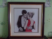 Flirtation Cross Stitch By  Oven