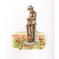 In Flanders Fields Cross Stitch Kit by Betty Davis