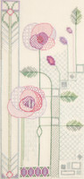 Mackintosh – Evening Rose Cross Stitch Kit By Derwentwater