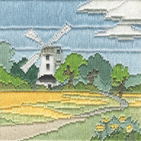 Silken Long Stitch – Windmill Kit By Derwentwater