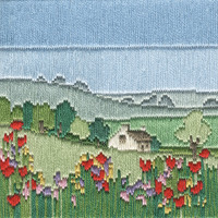 Silken Long Stitch – Meadow Kit By Derwentwater