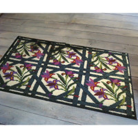Latch Hook Rug Kit - Iris