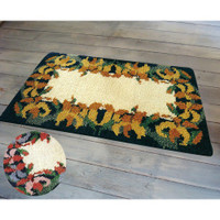 Latch Hook Rug Kit - Lilies