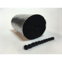 Pre Cut Rug Wool - Black 35