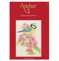 Cross Stitch Kit: Starter: Bluetit and Blossom