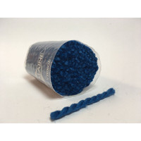 Pre Cut rug wool - Cobalt