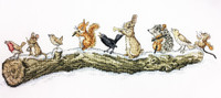 Woodland Chorus Cross stitch kit By Molly Brett