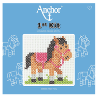 Pony Beginner 1st Cross Stitch Kit By Anchor