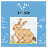 Rabbit Beginner 1st Cross Stitch Kit By Anchor
