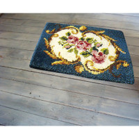 Latch Hook Rug Kit - The Crown
