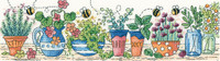 Herb Garden Cross Stitch Kit by Heritage Crafts