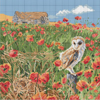 What a hoot Cross Stitch Kit by Pollyanna Pickering