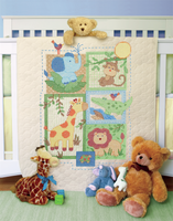 Stamped Cross Stitch: Quilt: Savanah by Dimensions