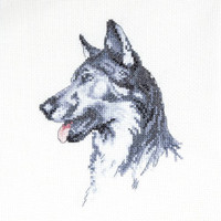 Mans Best Friend Fred Cross stitch Kit by Cecil Aldin