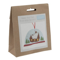 Felt Decoration Kit: Snow Globe